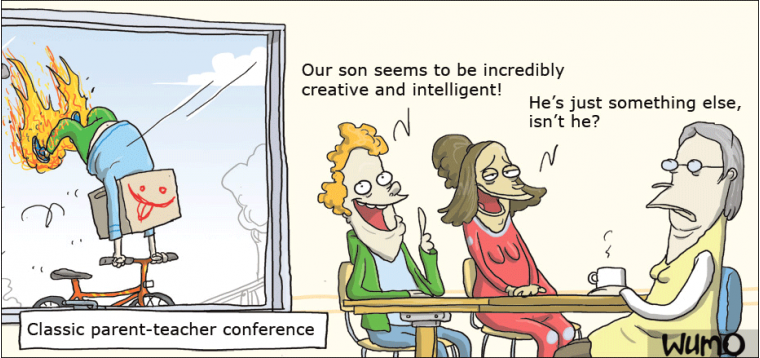 conference parent teacher